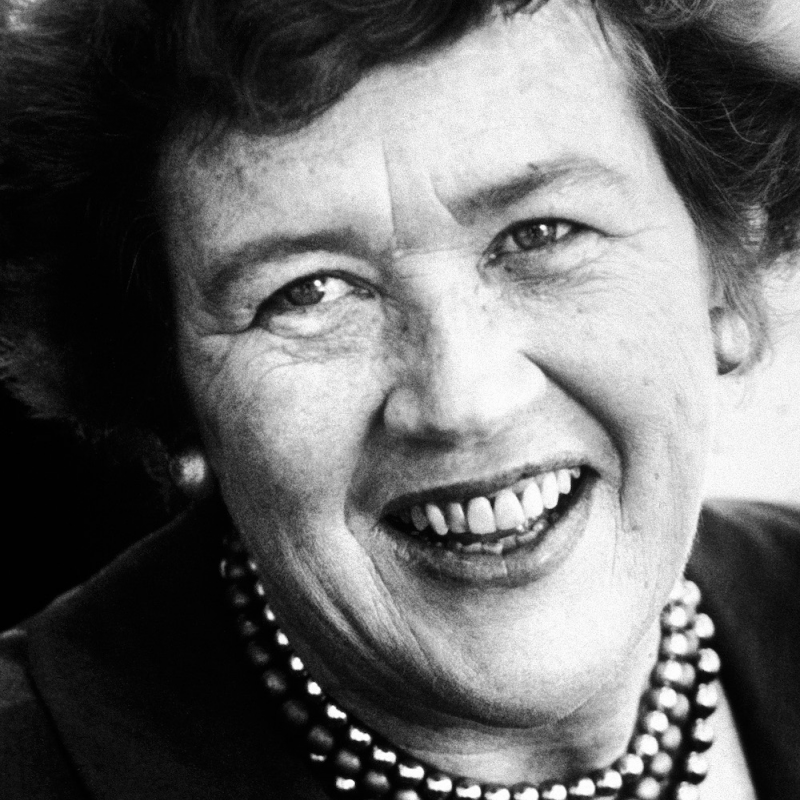 Famed chef and author Julia Child